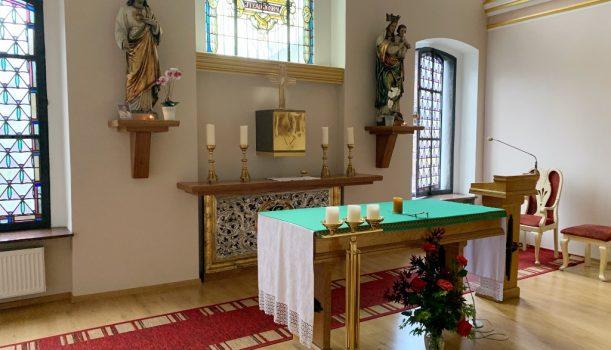 Zamów Mszę świętą w kaplicy Sióstr Sercanek
